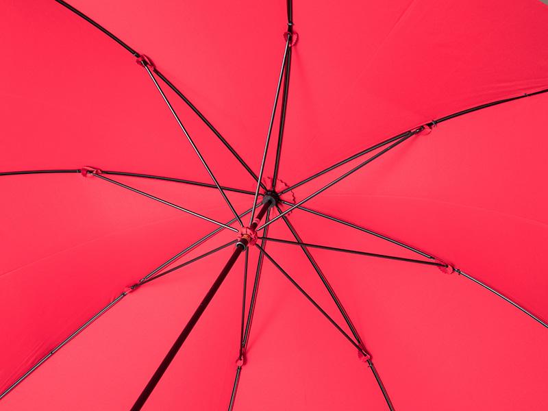 小宮商店 婦人用長傘 ミラトーレ レッド