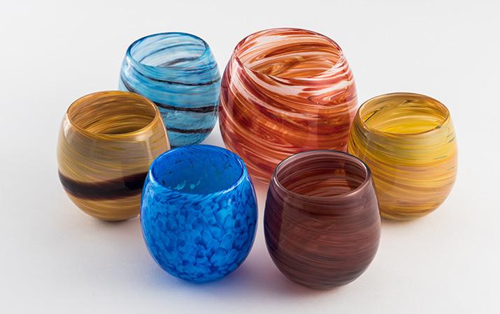 琉球ガラス PLANETシリーズ 惑星グラス