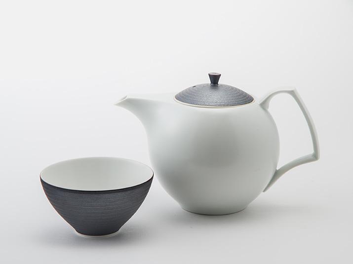 キハラ 煎茶 錆線紋