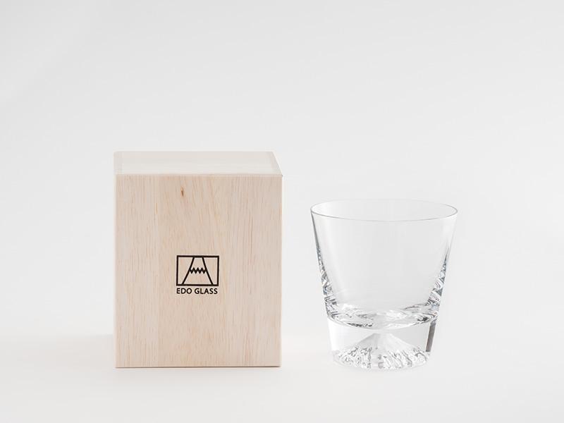 江戸硝子 富士山グラス