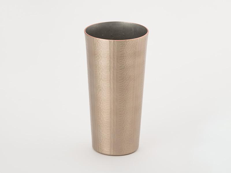 燕鎚器銅、錫器 タンブラー ストレート 線条文